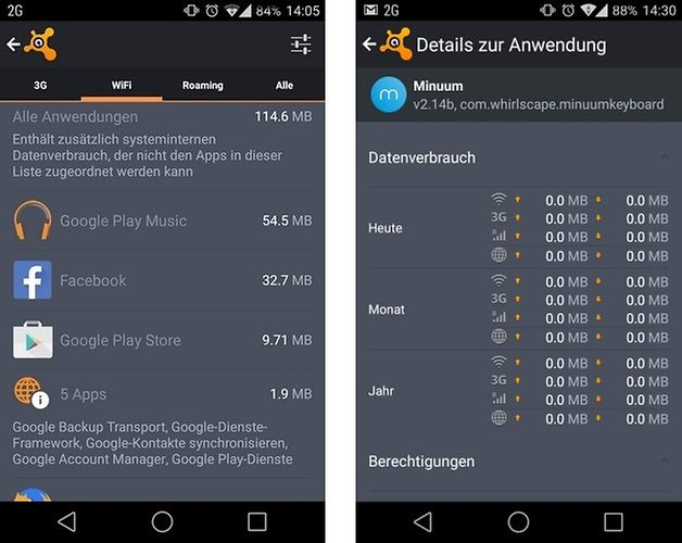 avast mobile security datenverbrauch