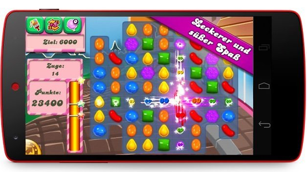 candy crush saga nexus 5