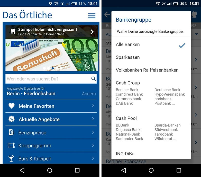das oertliche geldautomaten filter cash group