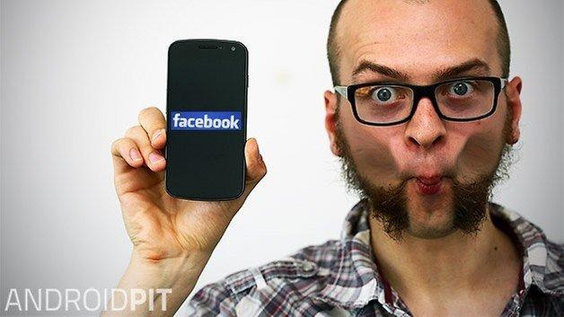 facebook galaxy nexus