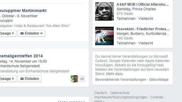 facebook veranstaltung webcal