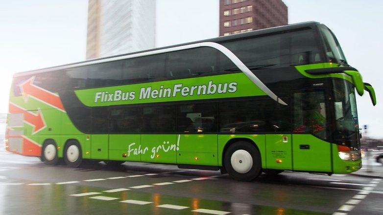 flixbus meinfernbus auf der strasse