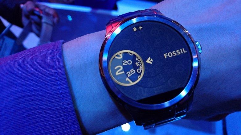 fossil q smartwatch intel ces2016 1