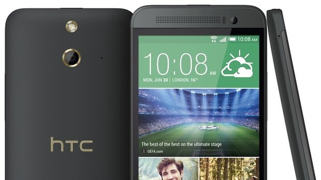 htc one E8 GreyGold teaser