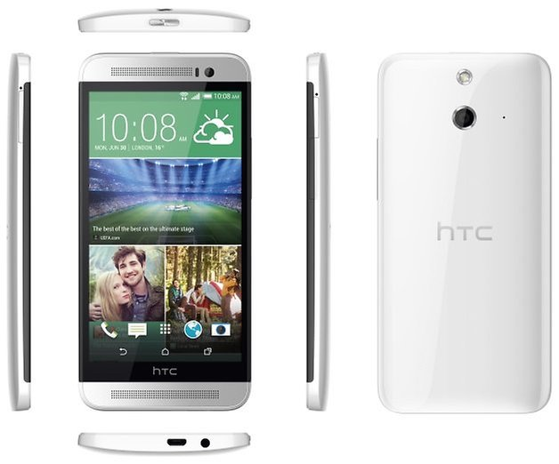 htc one E8 white