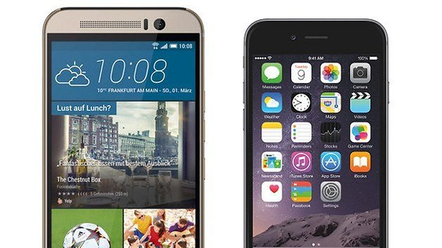 iphone 6 vs htc one m9 teaser