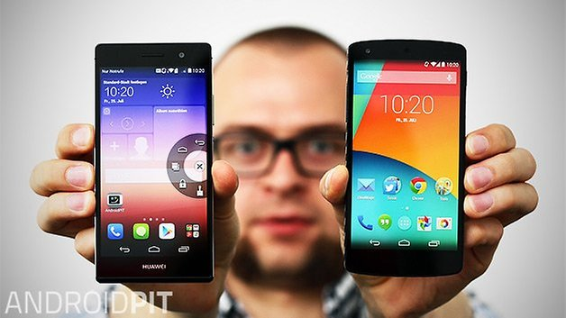 huawei ascend p7 nexus 5 emotion ui stock android teaser