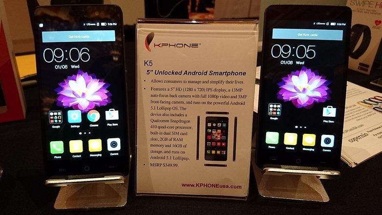 kphone k5 ces2016