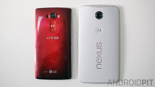 lg g flex 2 vs nexus 6 back androidpit