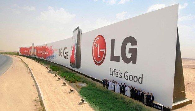 LG landet im Guinness-Buch der Rekorde