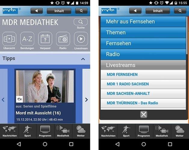mdr mediathek app