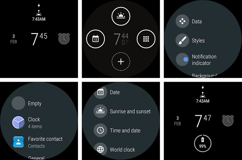 AndoridPIT android wear 2 add complication