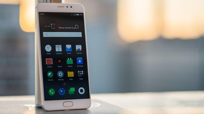AndroidPIT Meizu Pro 6 Plus front