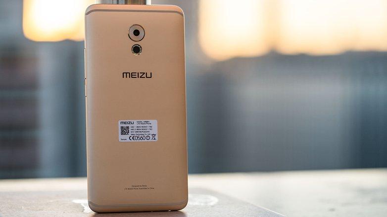 AndroidPIT Meizu Pro 6 Plus rear