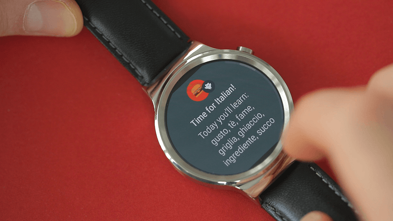 AndroidPIT android wear 2 notification