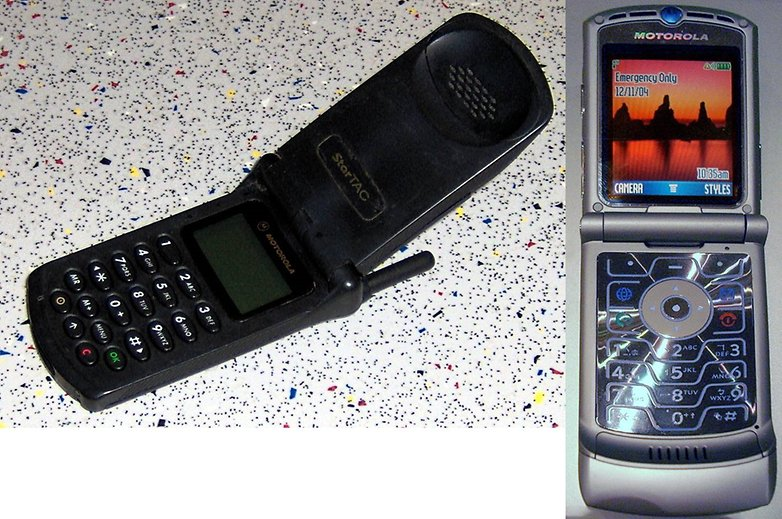 Motorola startac razr