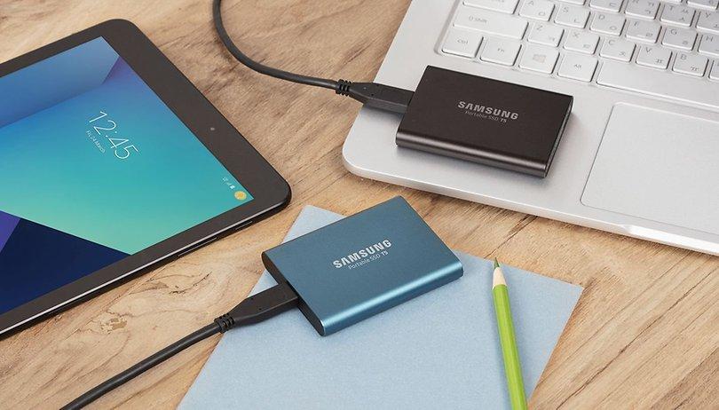 Samsung Portable SSD T5: Stolzer Preis für sichere Daten