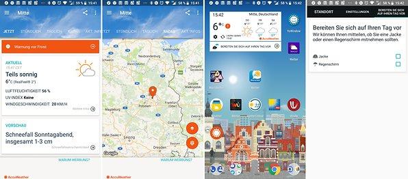 Die Besten Wetter Apps Für Android Androidpit