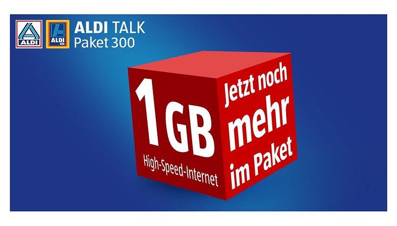 Aldi Talk gibt mehr Datenvolumen - für mehr Geld