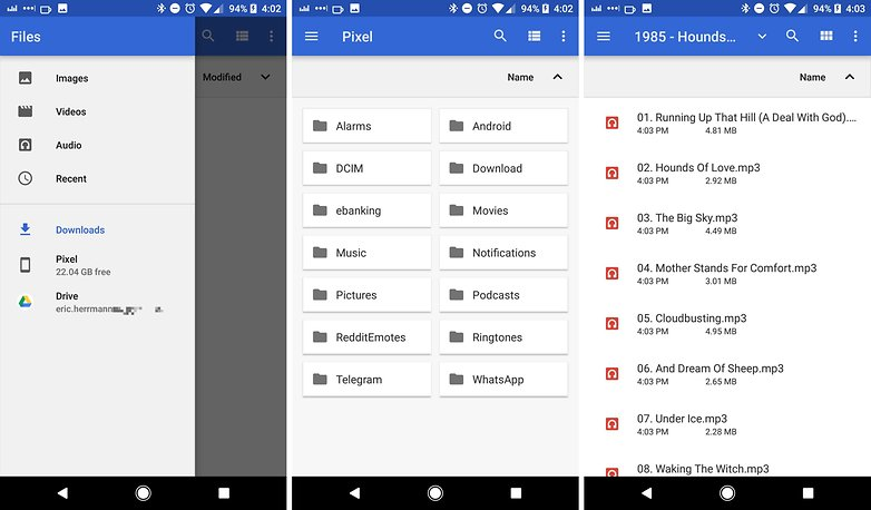 android 8 oreo file explorer