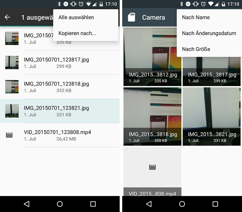 android m app files manager de