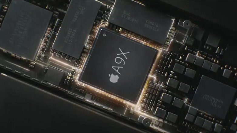 apple a9x processor chip