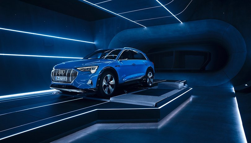 """Alexa, let's go on a road trip"": say hi to the Audi E-tron"