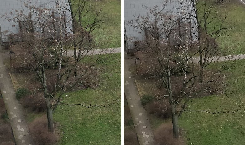 camera mod m on vs off