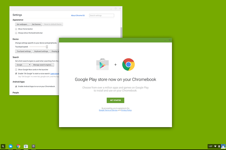 chrome os android apps