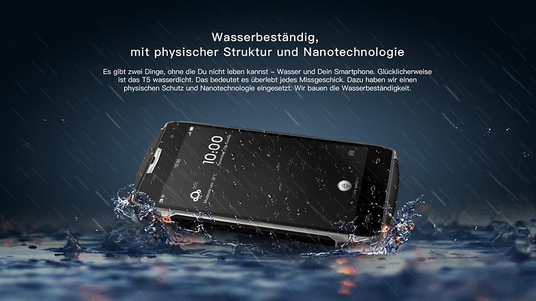 doogee t5 de more waterproof