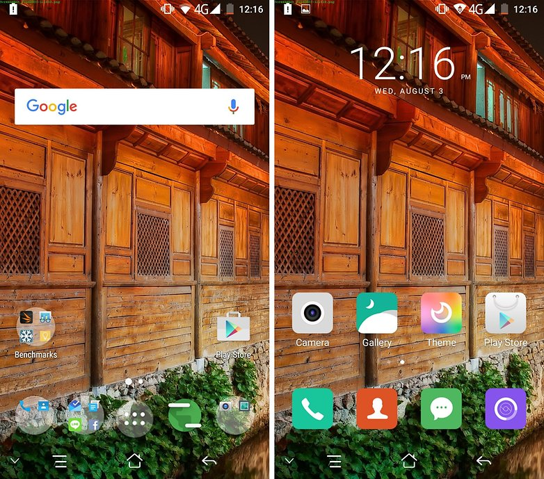 elephone s3 home screen launcher