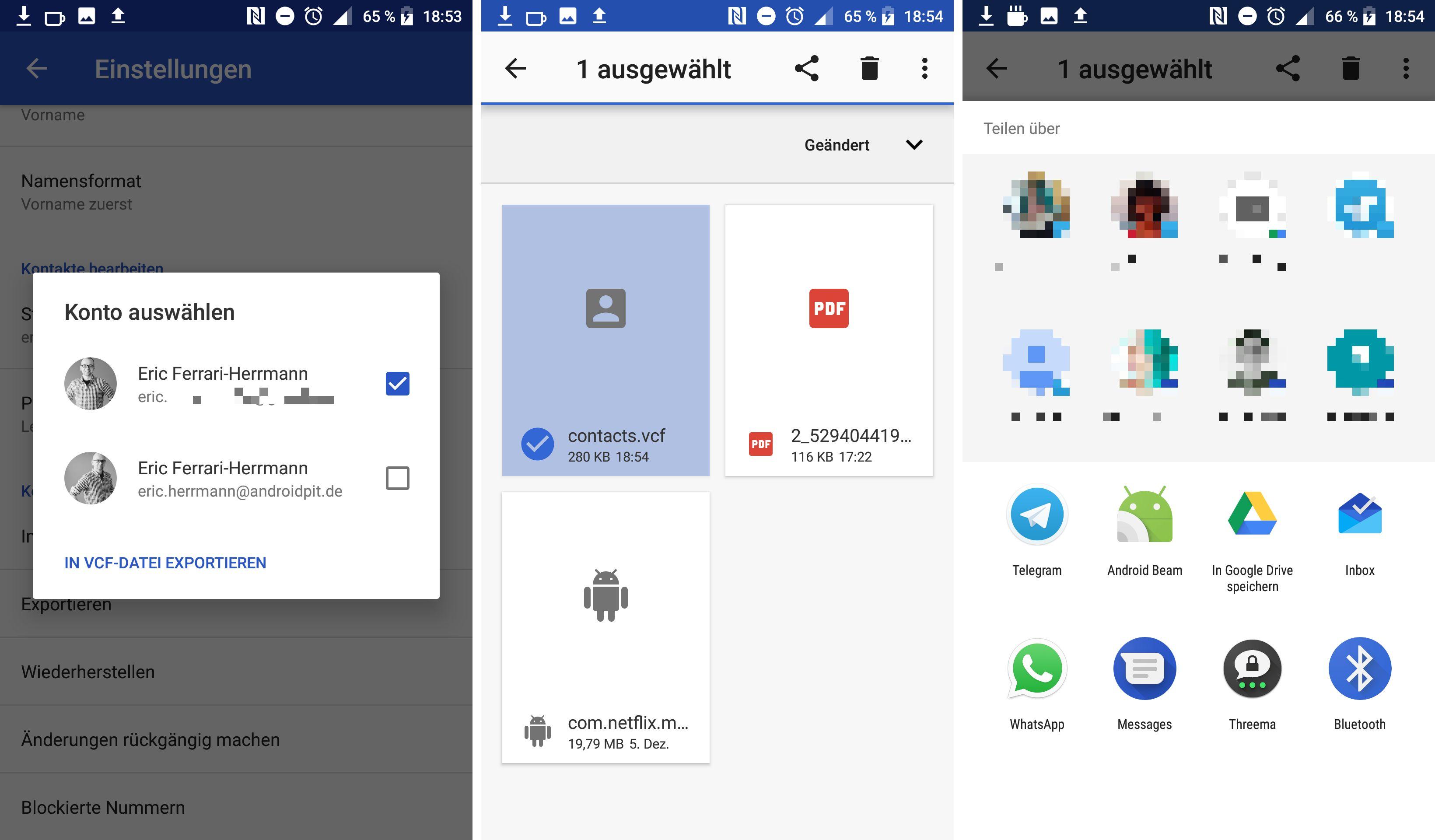 Kontakte Daten Und Mehr Vom Alten Aufs Neue Smartphone