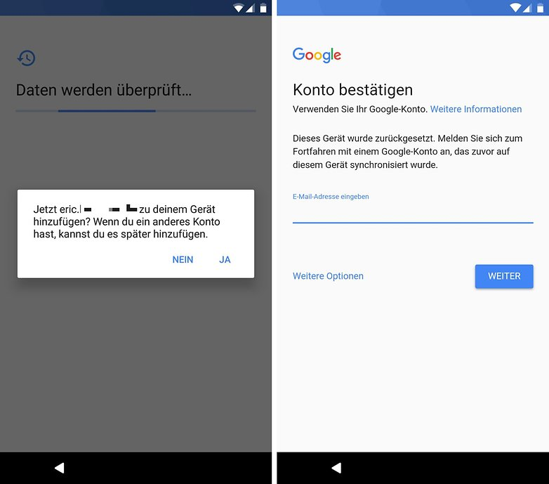 factory reset protection 2