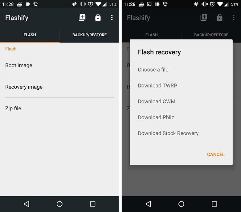 flashify root app