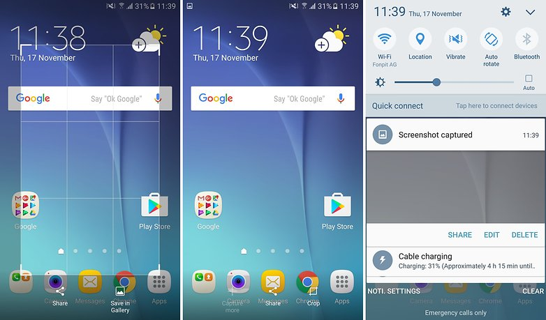 galaxy s6 screenshots