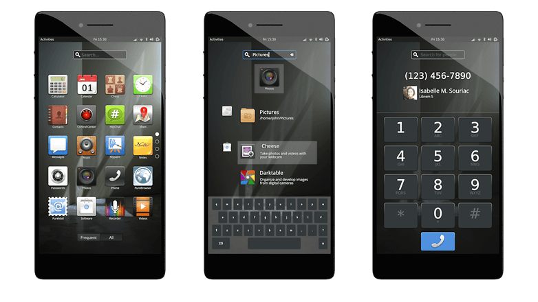 gnome shell phone