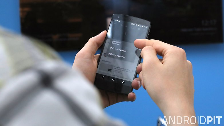 google cast choose device