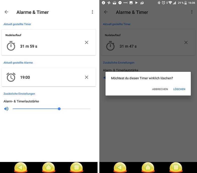 google home timer de 2018