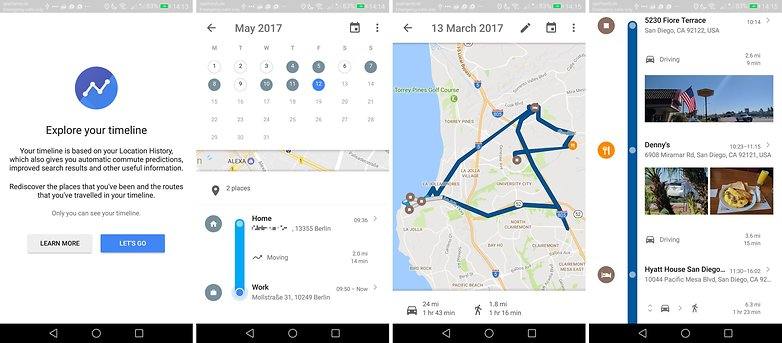 This Feature of Google Maps Shows the Locations Where You've Been