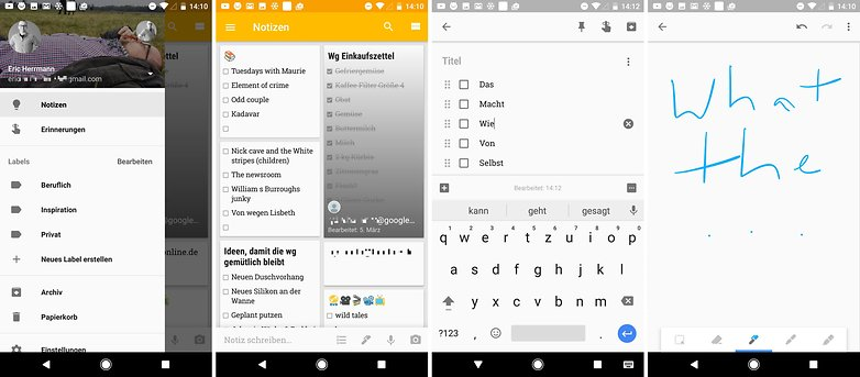 google keep 2016 test de