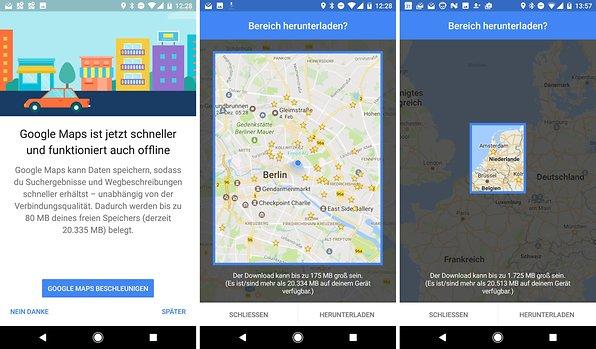 Google Maps offline: So nutzt Ihr den Kartennst ohne ... on