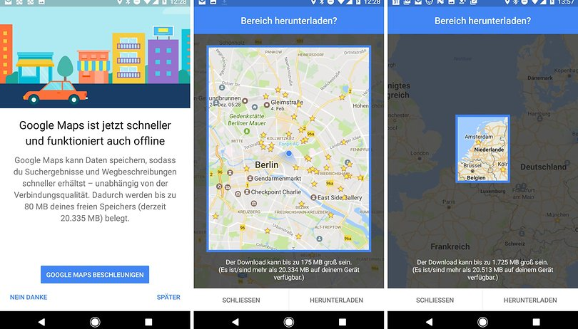 Google Maps Offline So Nutzt Ihr Den Kartendienst Ohne