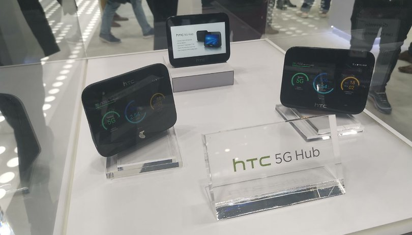 HTC's new 5G hub is ready for VR streaming