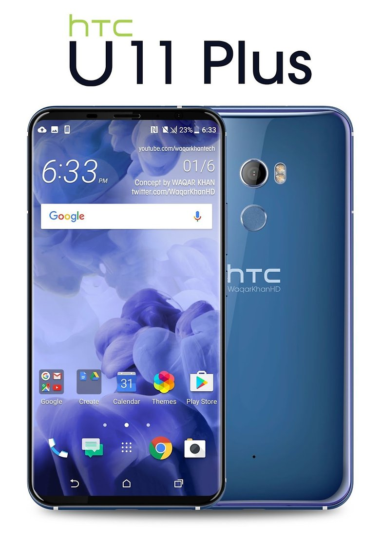 htc u11 plus fan rendering