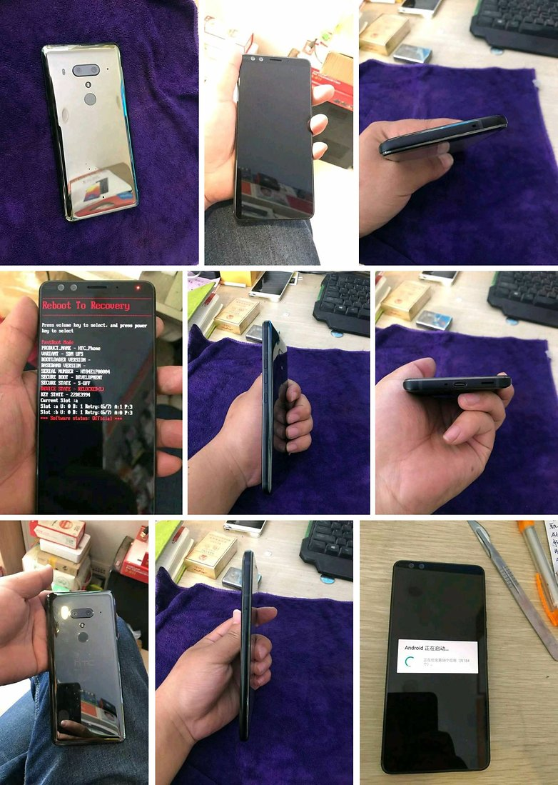 htc u12 plus leak