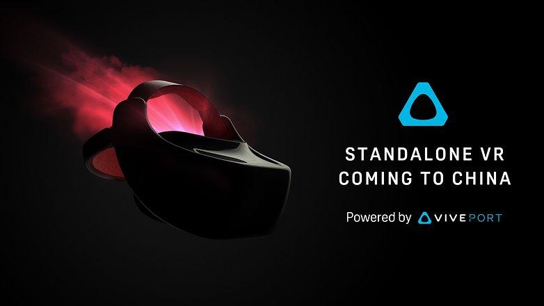 HTC Vive: Standalone-VR-Headset kommt mit Snapdragon 835