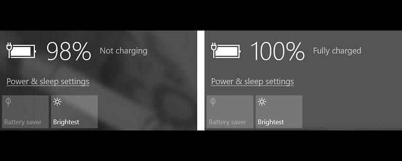 huawei matebook e trickle charging