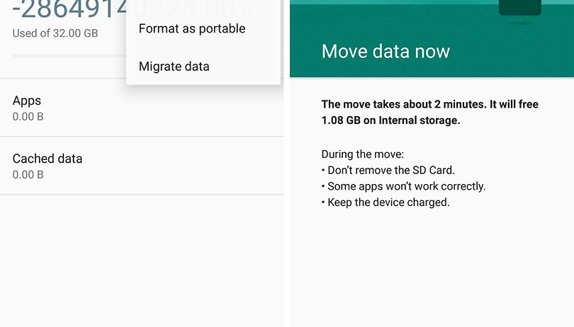 How to use a MicroSD as internal storage on your smartphone | AndroidPIT
