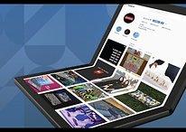 Nice flex: Lenovo unveils first folding PC