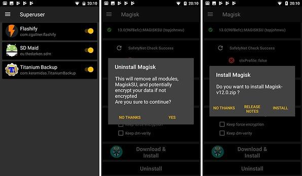 Magisk: Das Schweizer Taschenmesser für Modder   AndroidPIT